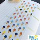 PP190 -- Ice-creams Life Planner Stickers for Erin Condren