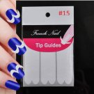 AAA:  2 PCS of  #15 Stickers For Nail Art w/Free 1 Roll Striping Tape Line Nail