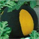 Eddy-Endah Store Black Yellow Skin Red Watermelon 'Crystal Ball' Seeds, Original Pack, 10 Seeds / Pa
