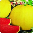 Eddy-Endah Store Brand New! Huangxiao Fu Small Yellow Watermelon Seeds HealthyVegetable Seeds 50 See