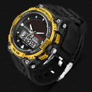 SANDA Watches Men Waterproof Solar Power Sports Casual