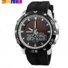 Watches Men Waterproof Solar Power Sports Casual Watch