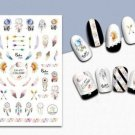 TM Nail Art 3D Decal Stickers Tribal Feathers Arrows Dreamcatcher Boho Style CA011
