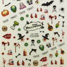 TM Nail Art 3D Decal Stickers Halloween Trick Treat Monsters Scary Eyeball CA099