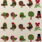 TM Nail Art Water Decals Christmas Birds Holidays Winter