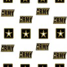 US Army W Water Transfer  D  NailArt