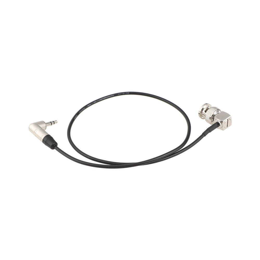 KAYULIN Right-angle BNC to 3.5mm Mini Jack Timecode Cable Item Code: C2385