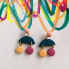 Clay earring fashiontrendi