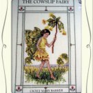 The Cowslip Fairy Cross Stitch Chart leaflet