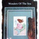 Wonders of the Sea - mermaid - cross stitch leaflet
