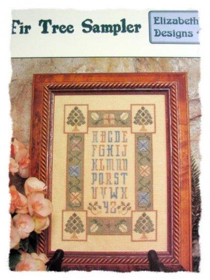Fir Tree Sampler by elizabeth's designs cross stitch