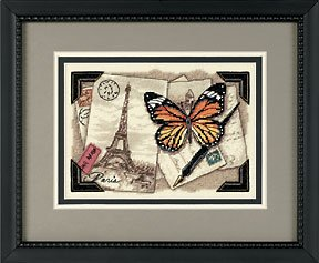 Travel Memories dimensions cross stitch butterfly kit
