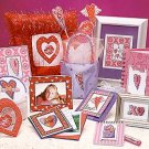 Heart Whimsy leaflet pattern cross stitch by dimensions
