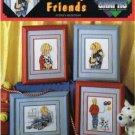 cuddly friends great big grapshs cross stitch pattern