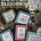 BACKYARD BLESSINGS cross stitch pattern 15 designs