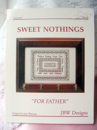 For Father Cross Stitch Sweet nothings JBW