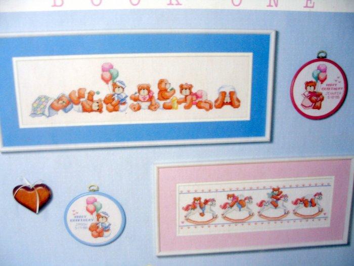Dimensions BABY BEARS Linda Gillum cross stitch