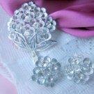 Sarah Coventry Rhinestone Sparkle Lites vintage jewelry