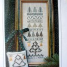 Pines and Needles Hillside samplings Cross stitch sampler