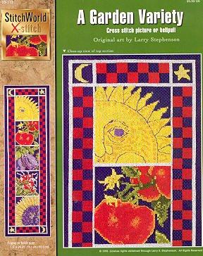 A garden variety cross stitch pattern StitchWorld