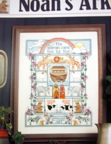 Noah's Ark by Linda Gillum Cross stitch