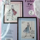 Fashion Pair Design Works cross stitch kit women rare