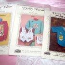 Doily Wear Set of 3 Craft projects Ozark Crafts