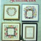 Sentiments Cross Stitch by Roberta Madeleine