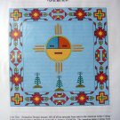 Apache Sun Lone Deer Sonagolese Cross Stitch