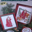 Forest Santa Donna Vermillion Cross Stitch Pattern
