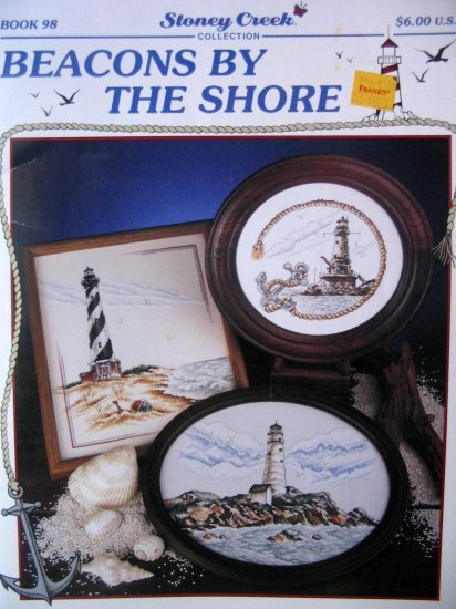 Beacons By the Shore by Stoney Creek light house cross stitch