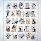 Crossed Wing Collection Alphabirds Cross Stitch
