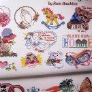 50 Cross Stitch Designs by Sam Hawkins