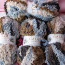 Variegated Thick Yarn by Gala - 4 skeins