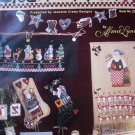 Alma Lynne Folksy St. Nick Cross Stitch Leaflet by Jeanette Crews