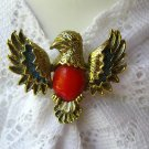 Vintage Signed Eagle Bird Pin Brooch by Gerry's