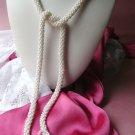 Faux Pearl Tassel Vintage Necklace