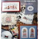 It's all relative in cross stitch leaflet by Linda Gillum