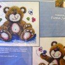 Butterfly Bears Kit by Jeanette Crews cross stitch