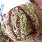 New 3 skeins by Gala - Brown Boucle Type Yarn