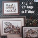 English Cottage Settings Stoney Creek Cross Stitch 96
