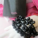 Mark Avon Bracelet All in the wrist Jet Black NIB
