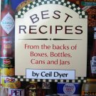 Best Recipes from the Backs of Boxes, Bottles, Cans, and Jars [Hardcover]