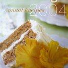 Martha Stewart Living Annual Recipes 2004 [Hardcover]