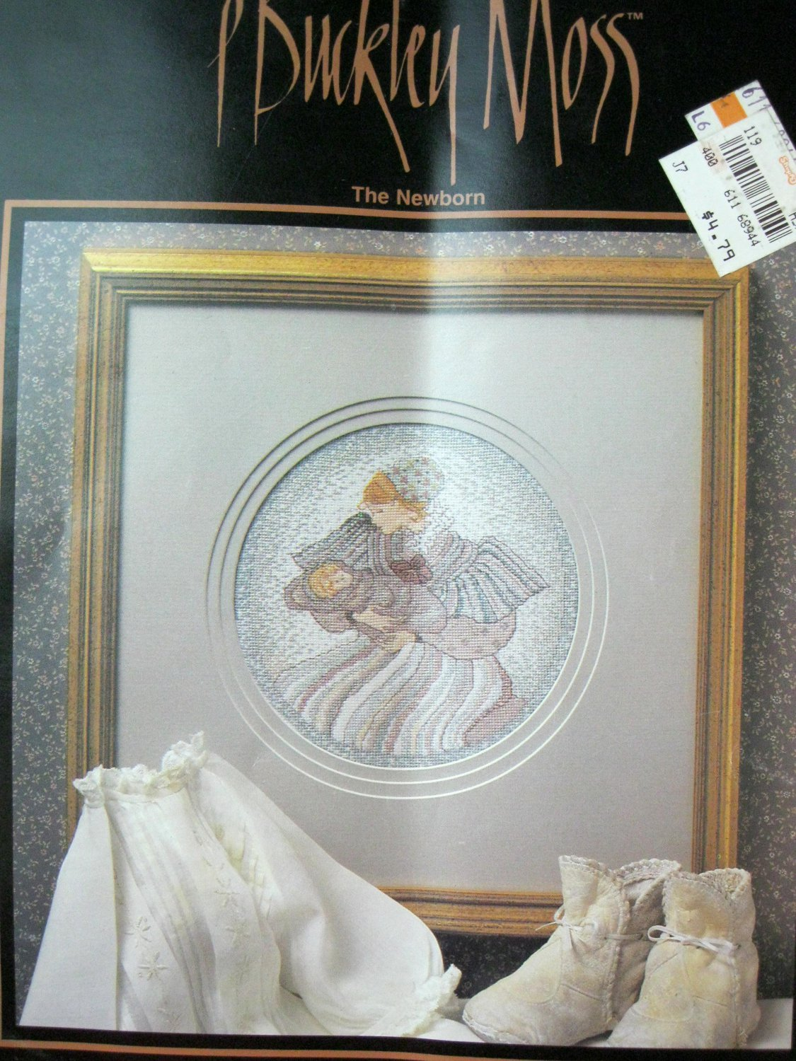 P Buckley Moss : The Newborn (Leaflet 110) Cross Stitch