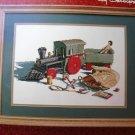 The Train Ride by Ray Davenport Cross Stitch Pattern