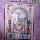 Welcome Cross Stitch Kit Bucilla NIP