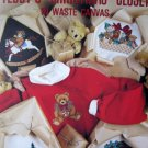 Teddy's Christmas Closet in Waste Canvas Cross Stitch