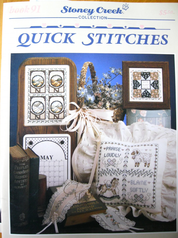 Quick Stitches Stoney Creek Cross Stitch