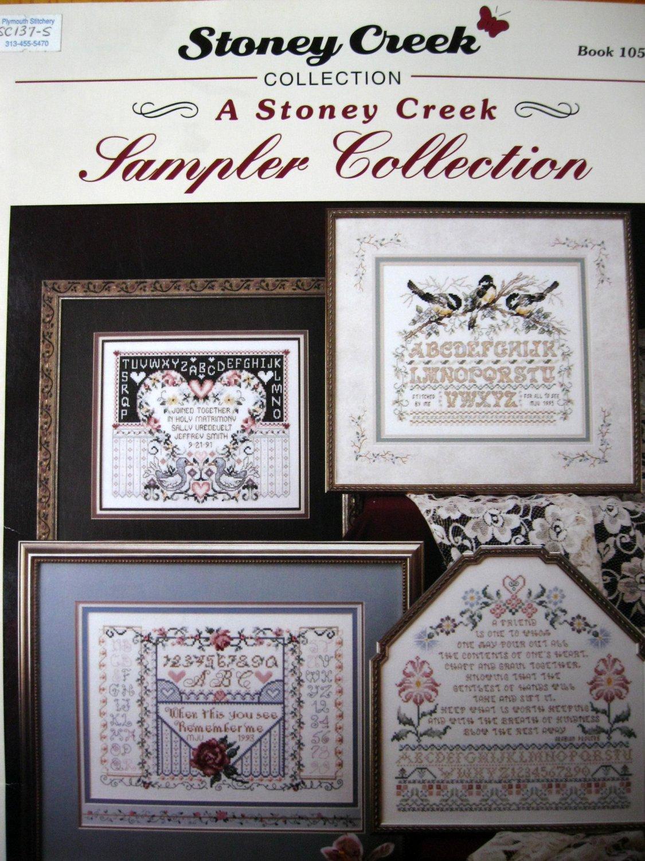 Sampler Collection 105 Stoney Creek Cross Stitch Pattern